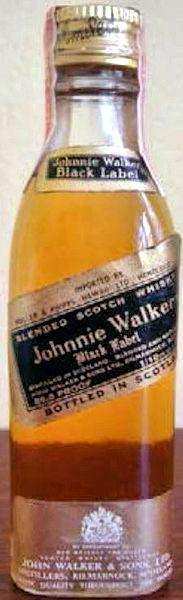 John Walker And Sons Johnnie Black Label Hawaii Import03
