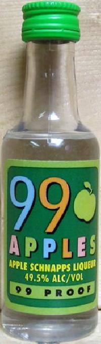 Sazerac 99 Apples Apple Schnapps Liqueur01